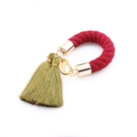 Military Chic Tassel Bracelet