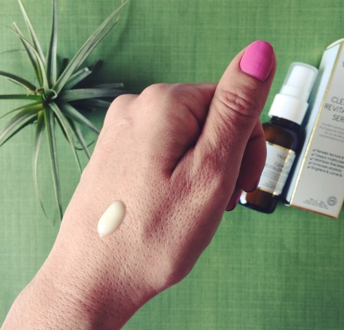 valentia clear lift revitalizing serum chantal boyajian.JPG