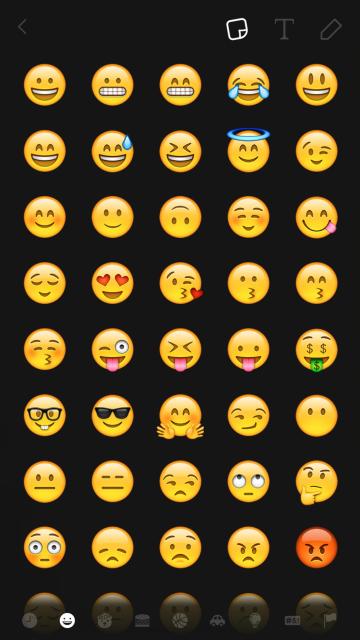 snapchat emoji how to beginner guide chantal boyajian.PNG