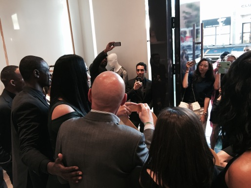 kimora lee simmons ribbon cutting beverly hills
