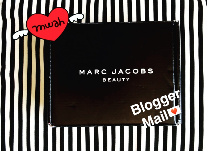 marc jacobs beauty influenster glow stick illuminator blogger mail snapchat chantal boyajian.JPG